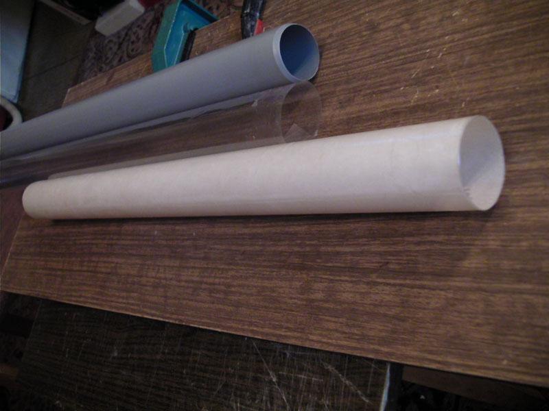 Труба из стеклоткани своими руками 96