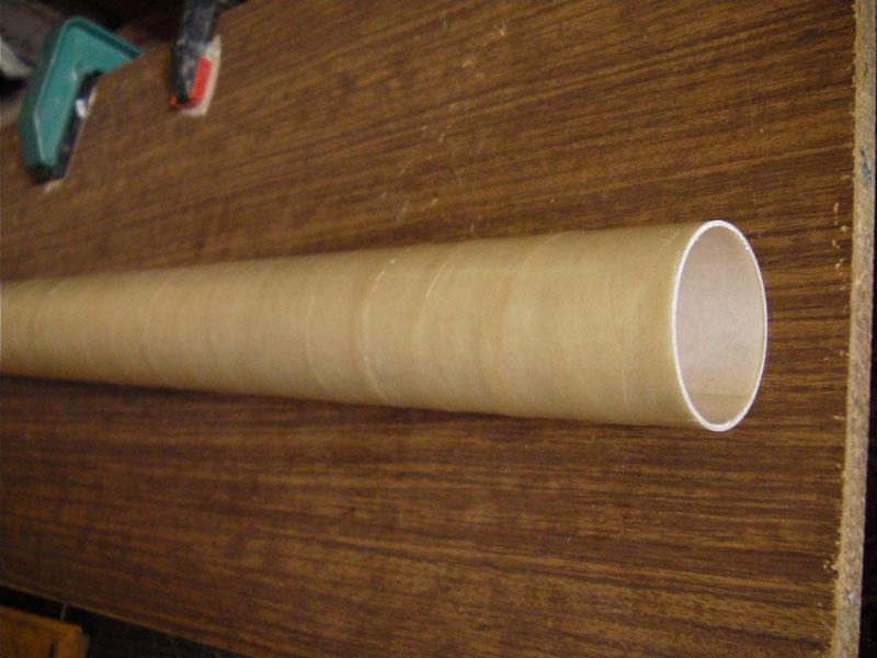 Труба из стеклоткани своими руками 88